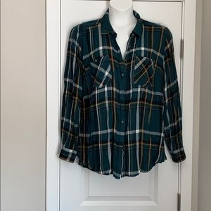 Maurices button down flannel
